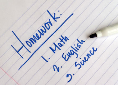 Organized study skills