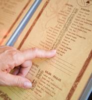 Making a menu