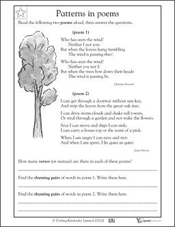 Pattern in poem
