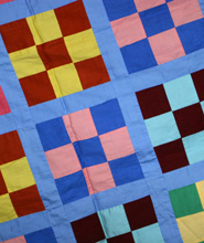 Making a quilt activities