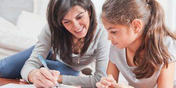 helping children with homework