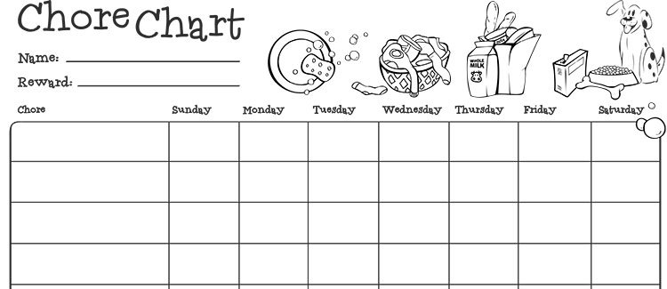 Chore Chart For Kids | Parenting