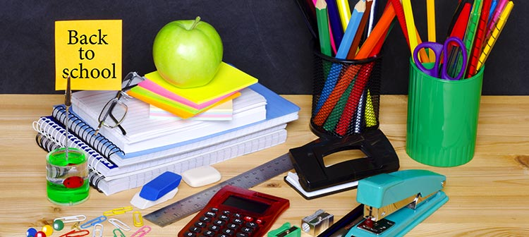 What school supplies are necessary for a first time college student?