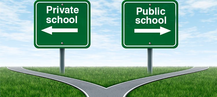 private vs public education for your The difference between public, private, magnet, charter, and more in this article public schools charter schools usually challenge standard education practices and sometimes specialize in a particular area public vs private: which is right for your child.