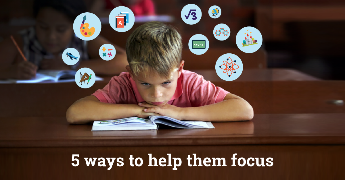 5 Tips to Help Your Kid Laser Focus on Homework - No Guilt Mom