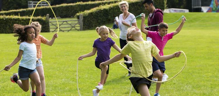 Don't just exercise: Hop! Gallop! Side-slide!