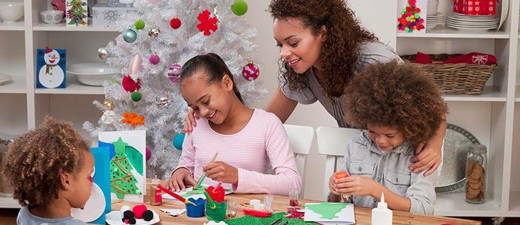 Worksheets activities for winter break parenting for Family arts and crafts