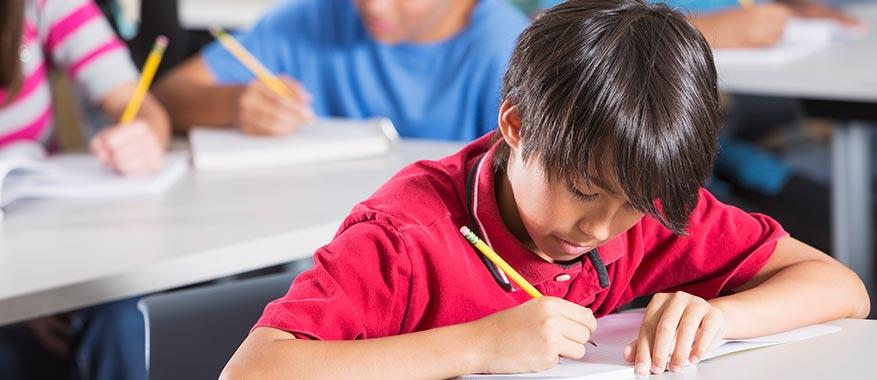 teaching kids to stay focused under pressure