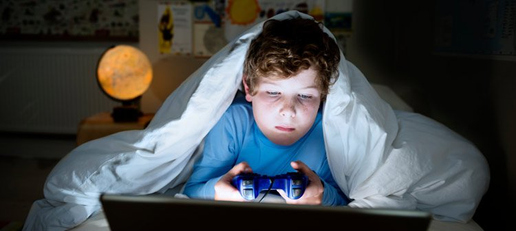 Effects of video games on a child's brain