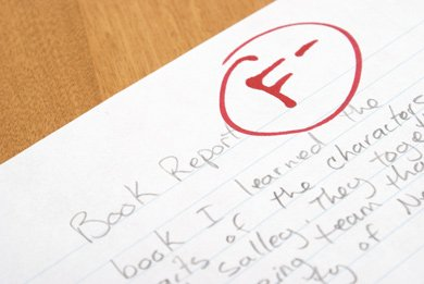 report cards in middle or  F Report Card
