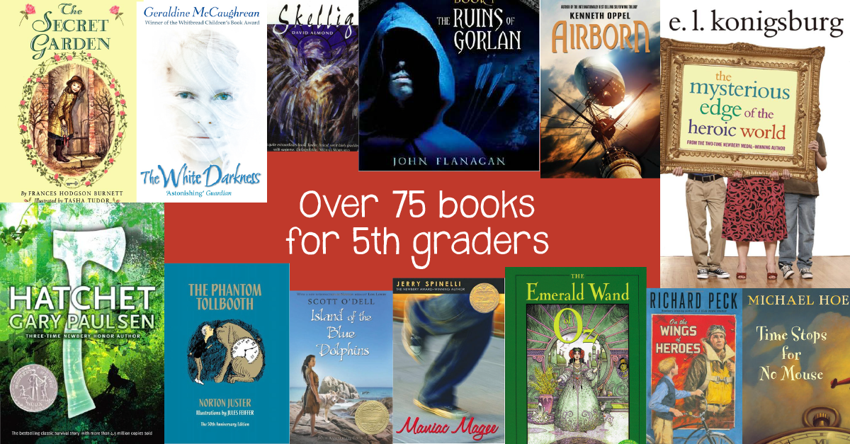 Favorite Books For 5th Graders Greatschools