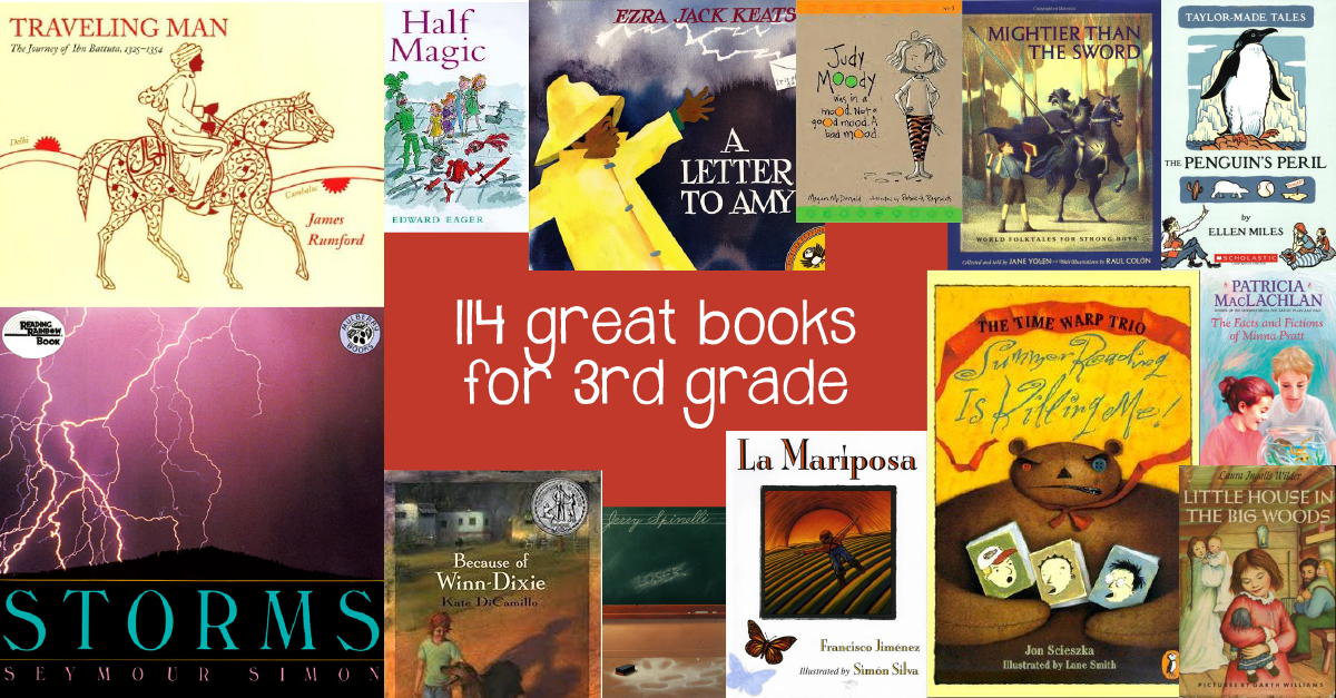 Favorite books for 3rd graders Book lists | GreatSchools org