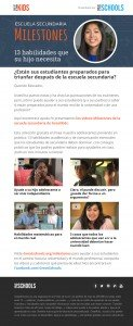 High School Milestones Spanish outreach email to educators