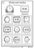 1st grade worksheets on telling time parenting skill telling time to the nearest half hour ibookread ePUb