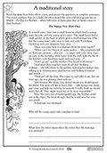 4th grade reading comprehension worksheets parenting. Black Bedroom Furniture Sets. Home Design Ideas