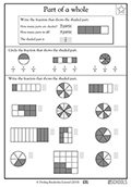whole and half worksheets for kindergarten - Google Search ...