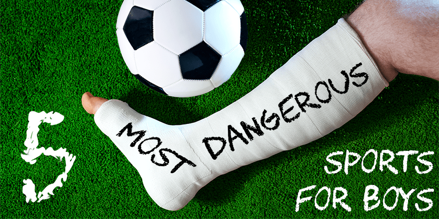 The 5 most dangerous sports for boys | Parenting