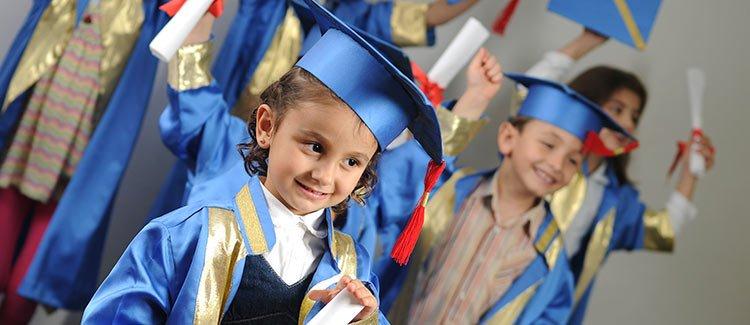 Graduating From Kindergarten