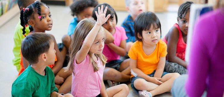 Kindergarten brain development
