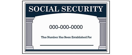 Know your child's Social Security number