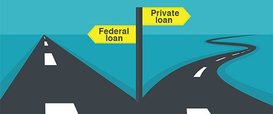Know the difference between federal vs. private student loans