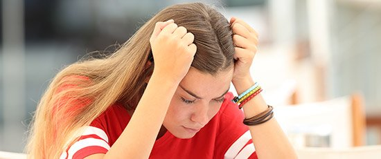 Help your child ease test anxiety
