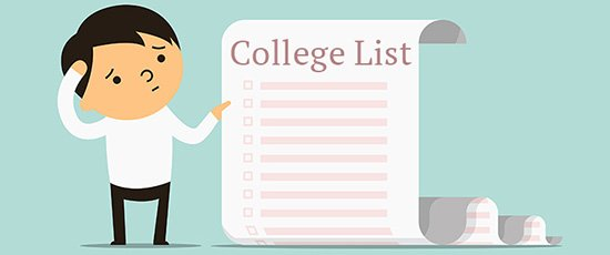 Help your teen make a college list