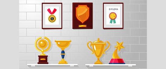 Start a trophy wall