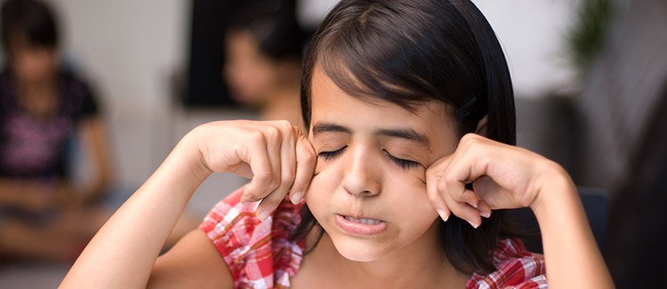 How to help your child get over nervousness about tests