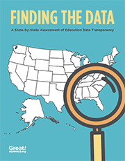 Finding the Data report cover
