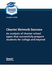 Charter Network Success report cover