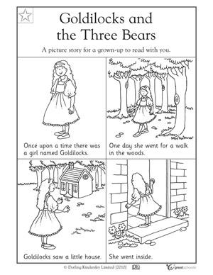 math worksheet : 5 great reading worksheets kinder  goldilocks!  greatschools : Picture Story Sequencing Worksheets Kindergarten