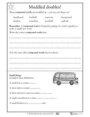 5 great reading worksheets: grade 2 - Sound words   GreatSchools