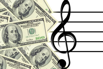 money and trebel clef