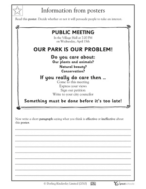 Printables. Fourth Grade Language Arts Worksheets. Gozoneguide ...