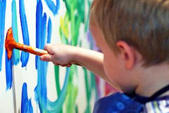 Art school kid