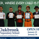 Photo provided by Oakbrook Preparatory School.