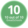GreatSchools Rating: 10 out of 10.